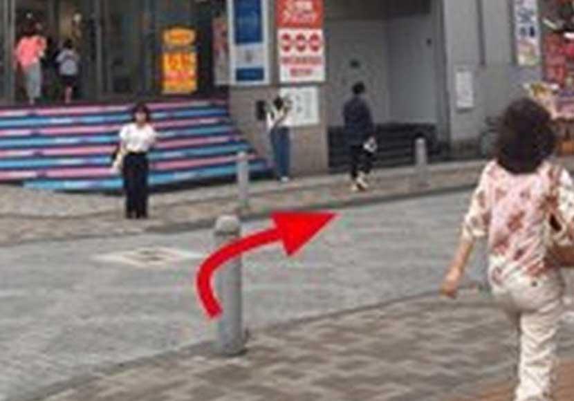 JR町田駅 中央改札口から町田店への道順3
