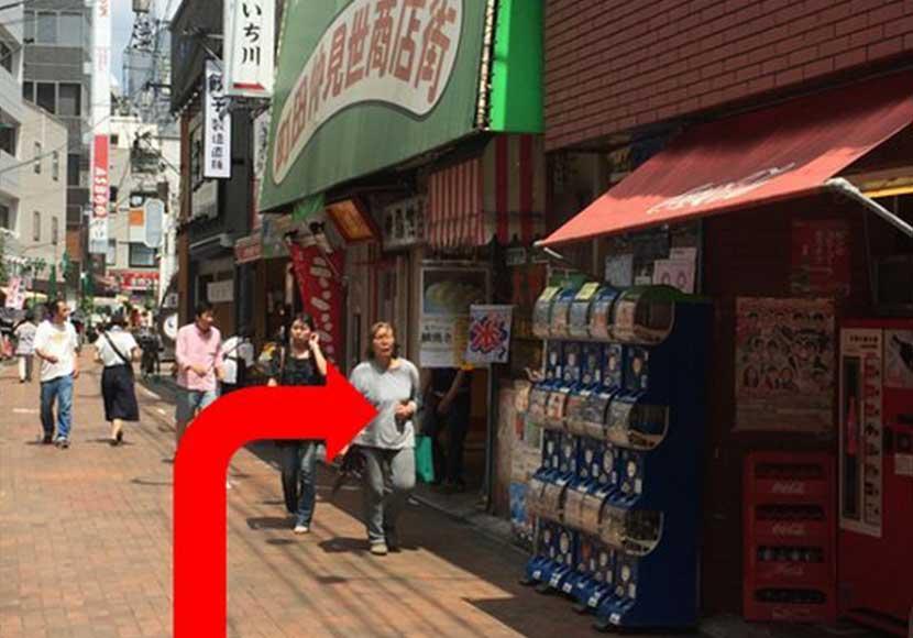 JR町田駅 ターミナル改札口から町田店への道順5