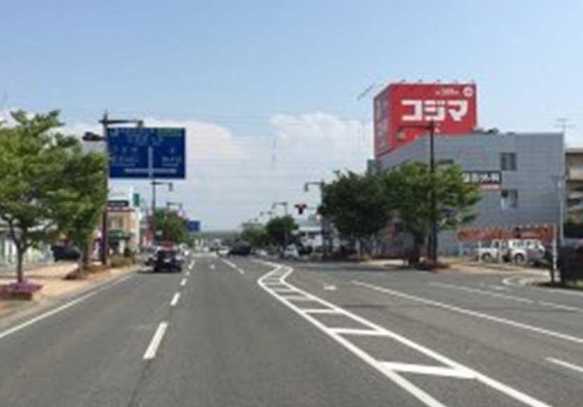 JR新潟駅 南口から新潟店への道順3