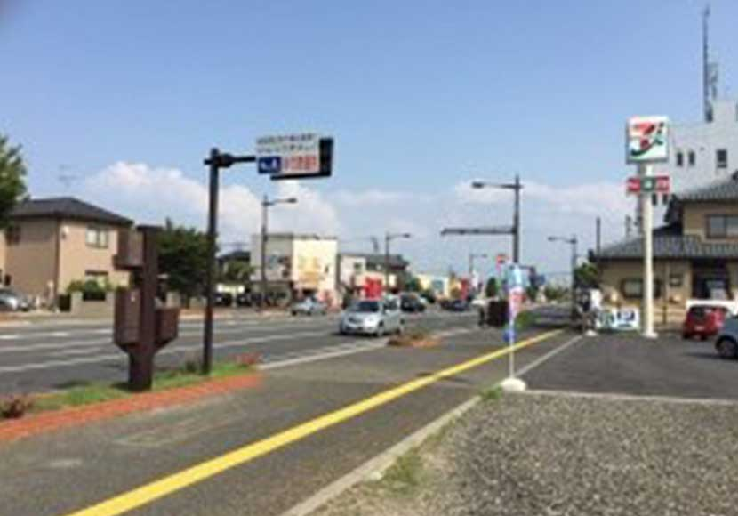 JR新潟駅 南口から新潟店への道順4