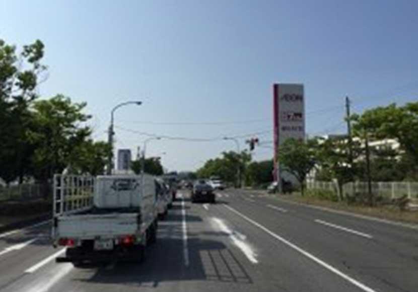 イオンモール新潟南方面から新潟店への道順1