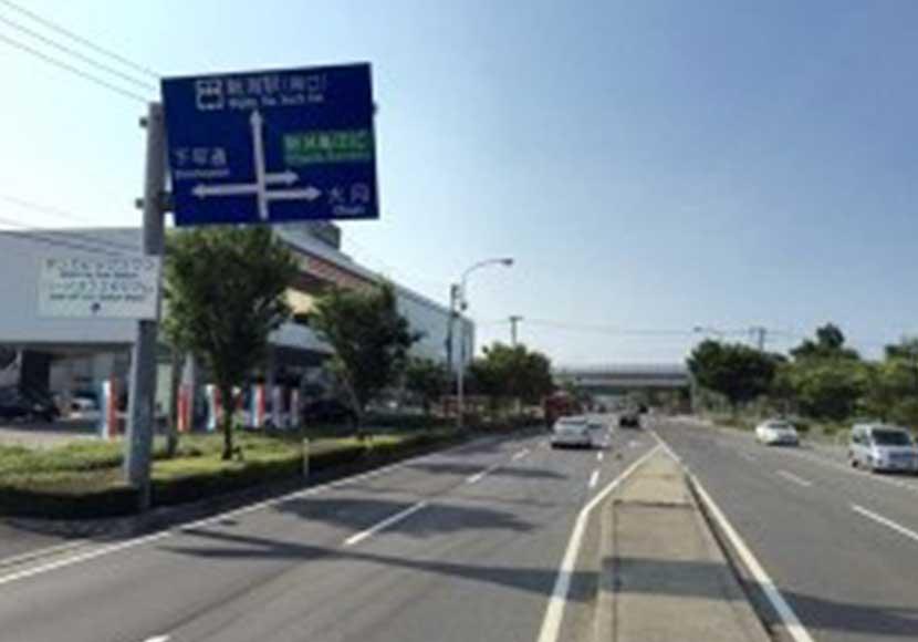 イオンモール新潟南方面から新潟店への道順2
