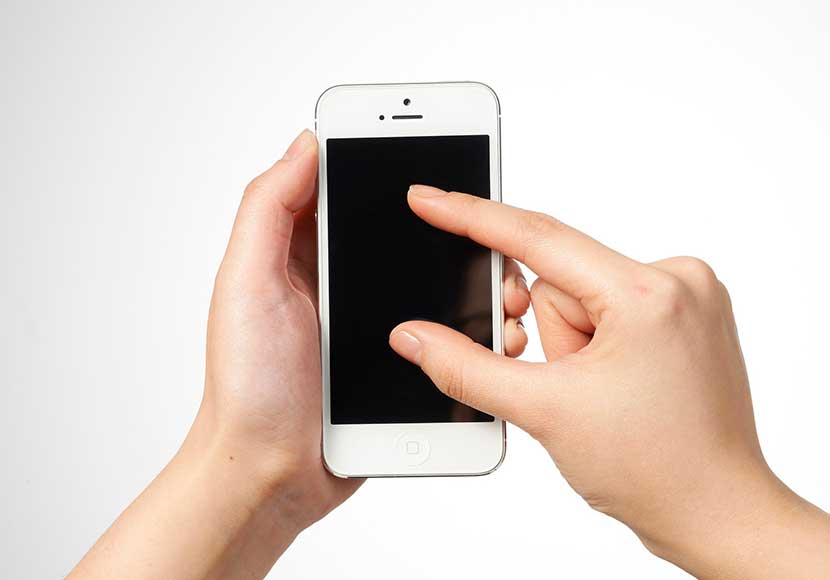 iPhone6sのタッチパネルが反応しない!タッチ不良の原因と対処方法