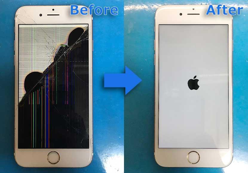 町田のiPhone修理|iPhone6sの液晶不良修理が即日20分で完了