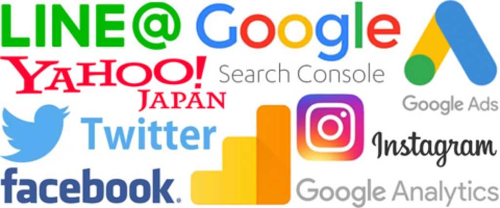 主要SNSの企業ロゴ